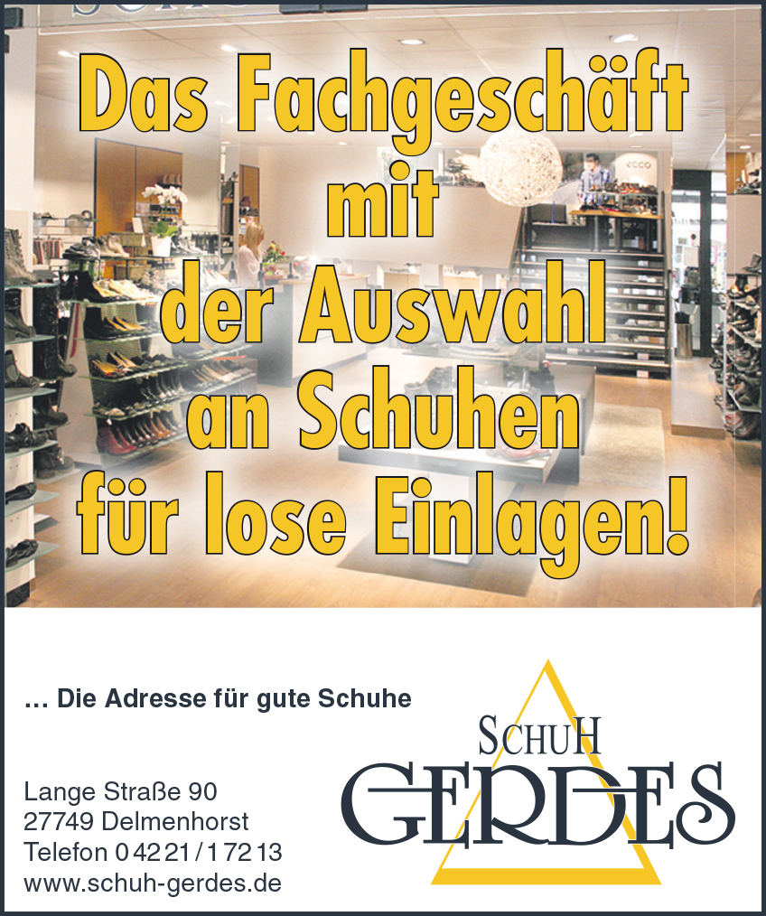 schuhe f r lose einlagen schuhhaus gerdes in delmenhorst. Black Bedroom Furniture Sets. Home Design Ideas